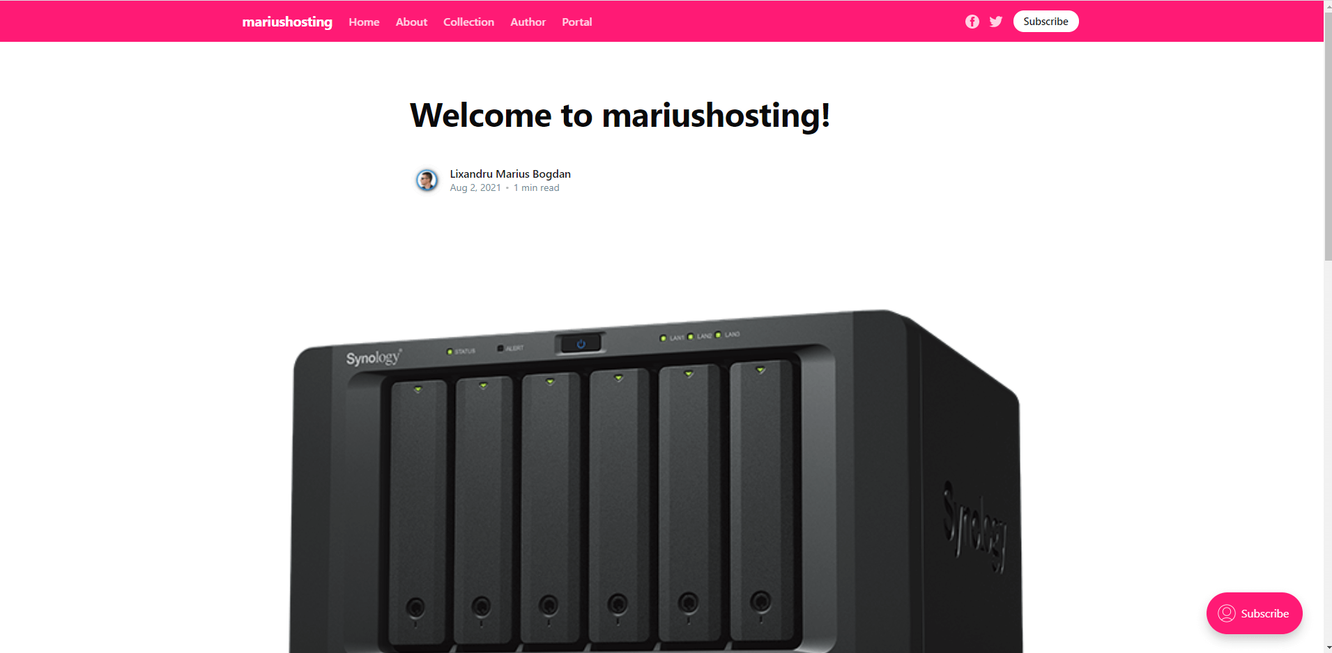 Ghost Synology NAS Set up 14
