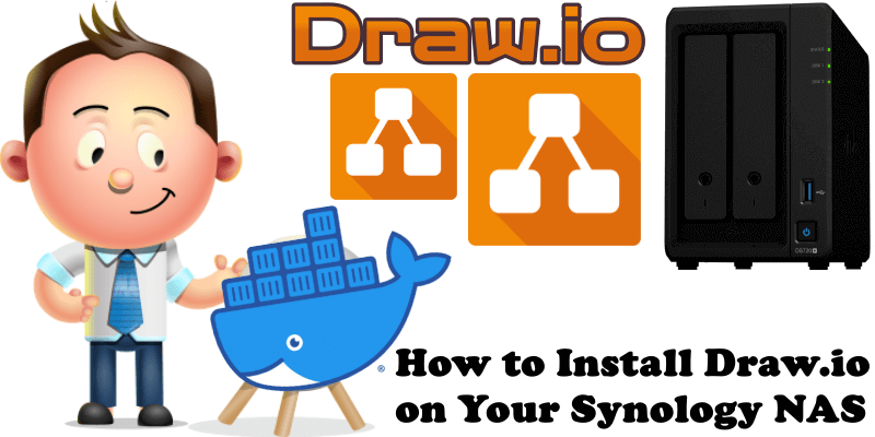 How to Install Draw.io on Your Synology NAS