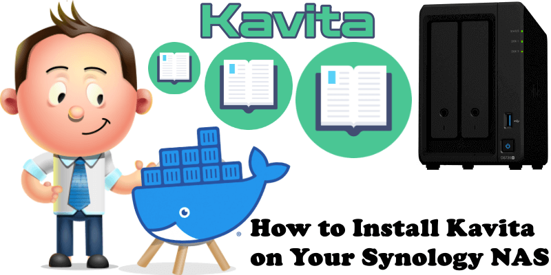 How to Install Kavita on Your Synology NAS