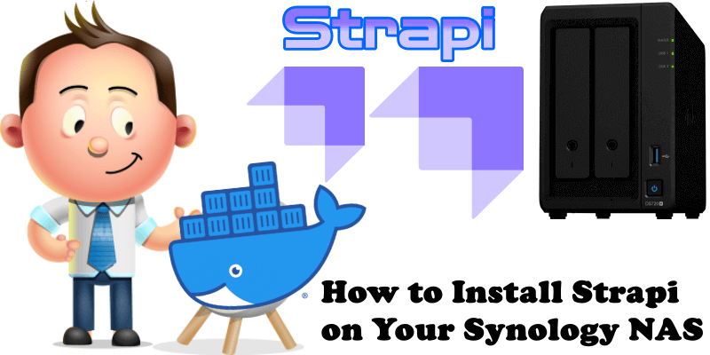 How to Install Strapi on Your Synology NAS