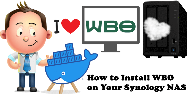 How to Install WBO on Your Synology NAS