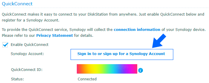 Synology DSM Version 6.2.4-25556-2