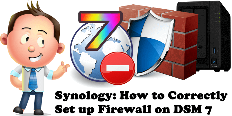 Synology How to Correctly Set up Firewall on DSM 7