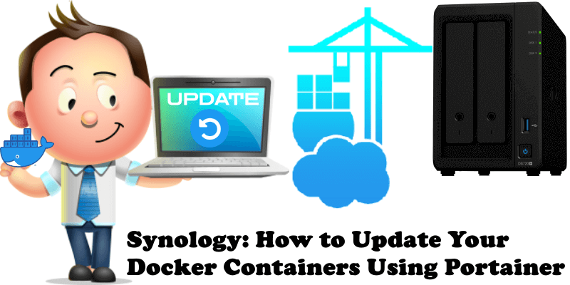 Synology How to Update Your Docker Containers Using Portainer