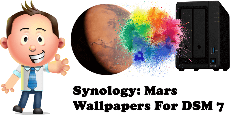 Synology Mars Wallpapers For DSM 7