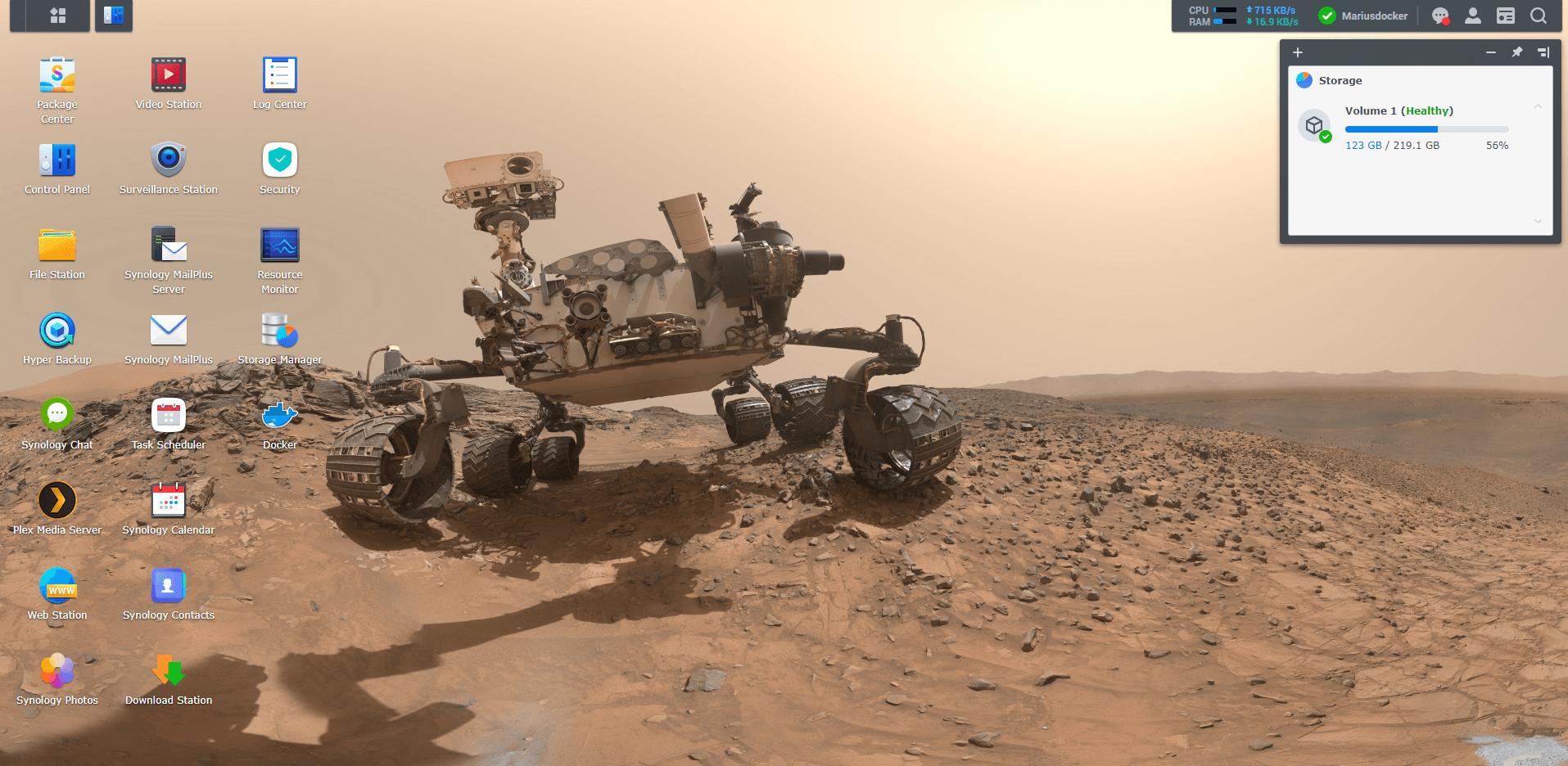 Synology NAS Mars Wallpaper 3