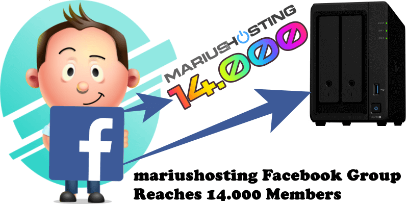 mariushosting Facebook Group Reaches 14.000 Members