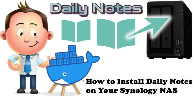 How to Install Daily Notes on Your Synology NAS