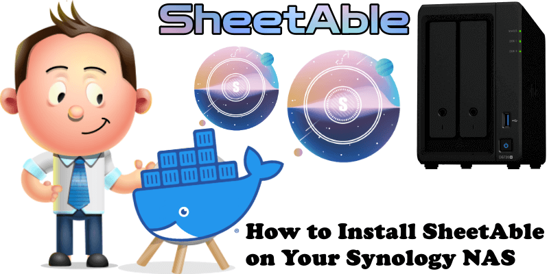 How to Install SheetAble on Your Synology NAS