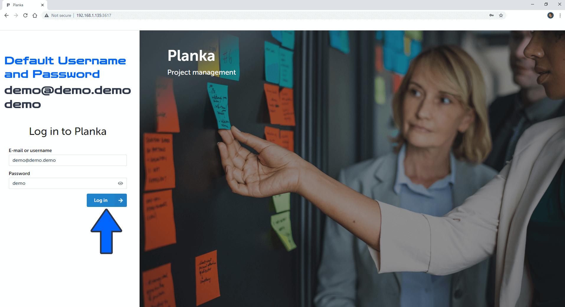 Planka Synology NAS Set up 7