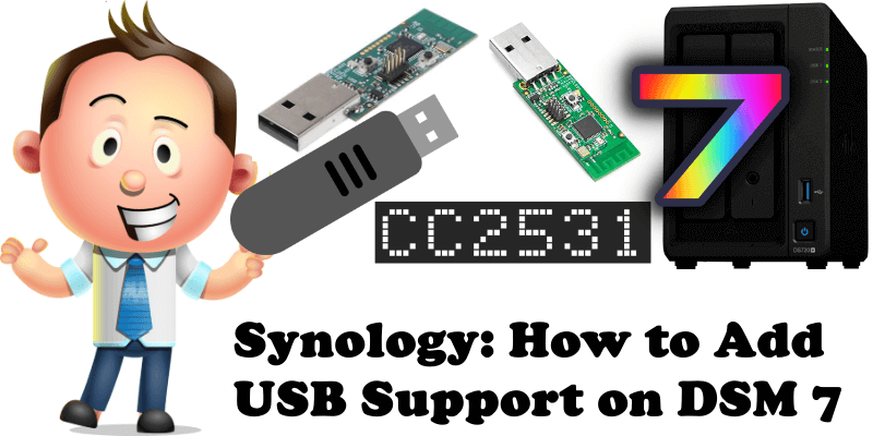 Synology How to Add USB Support on DSM 7