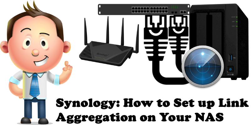 Synology How to Set up Link Aggregation on Your NAS