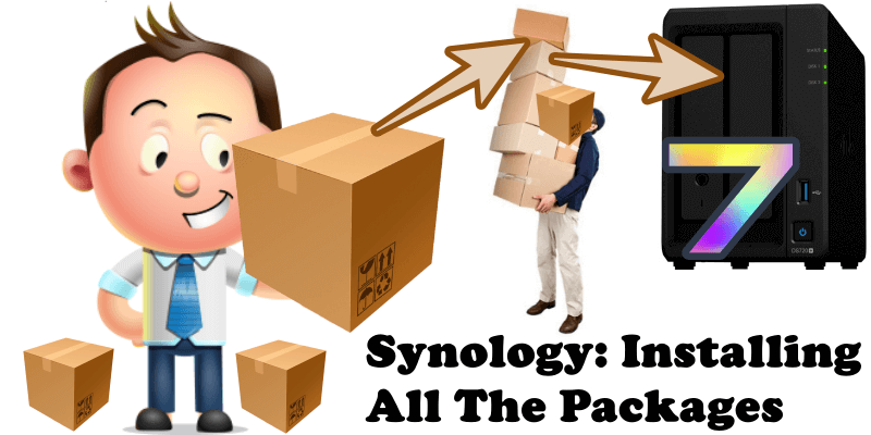 Synology Installing All The Packages