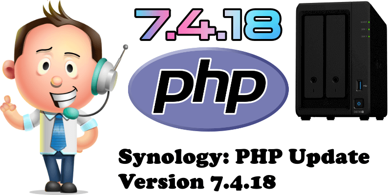 Synology PHP Update Version 7.4.18