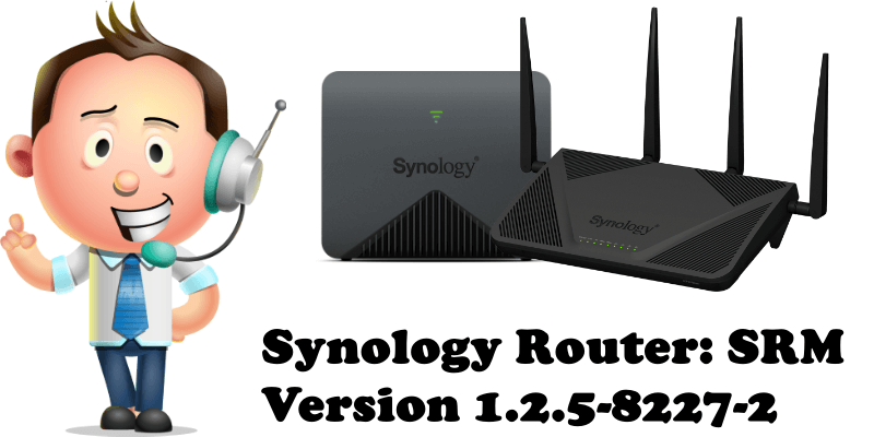 Synology Router SRM Version 1.2.5-8227-2