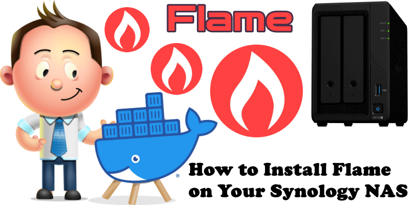How to Install Flame on Your Synology NAS