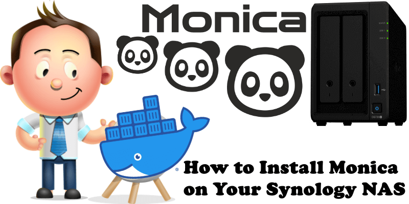 How to Install Monica on Your Synology NAS