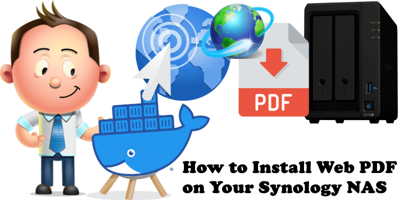 How to Install Web PDF on Your Synology NAS
