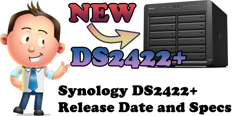 Synology DS2422+ Release Date and Specs