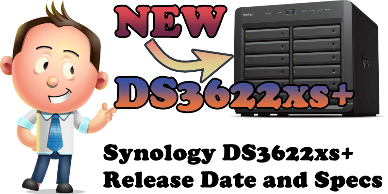 Synology DS3622xs+ Release Date and Specs
