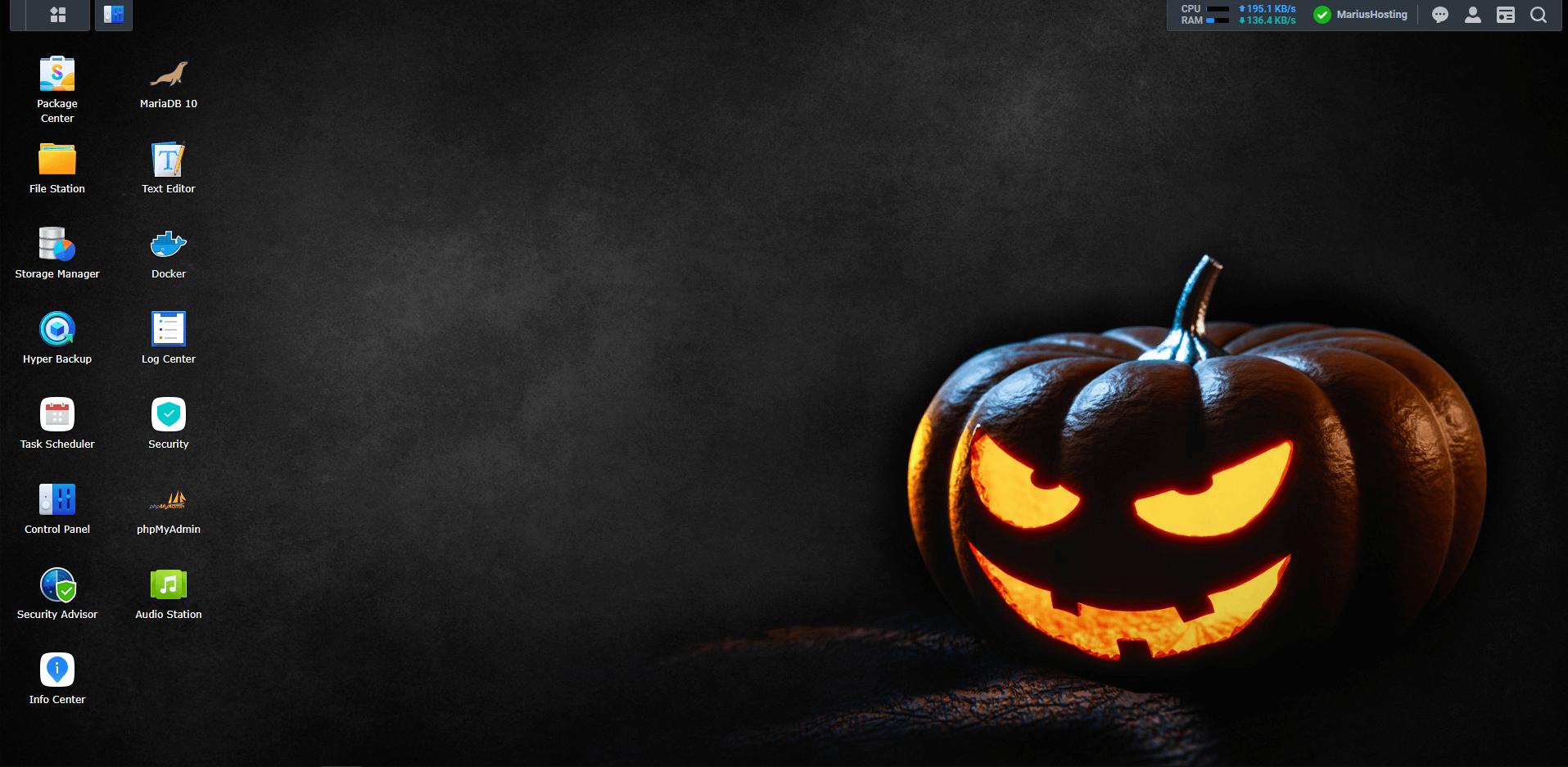 Synology DSM7 Halloween Wallpaper 1
