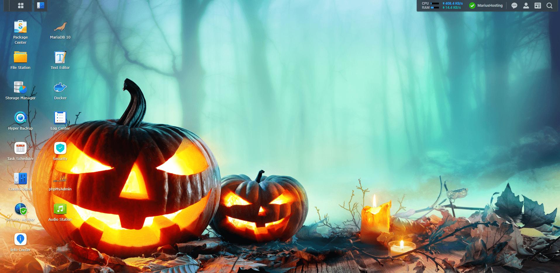 Synology DSM7 Halloween Wallpaper 6