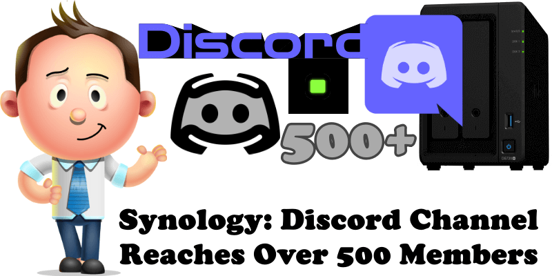 Synology Discord Channel Reaches Over 500 Members