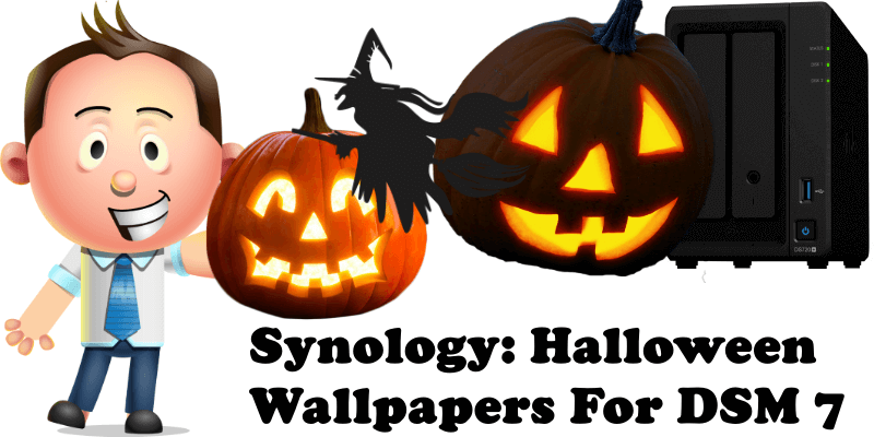 Synology Halloween Wallpapers For DSM 7