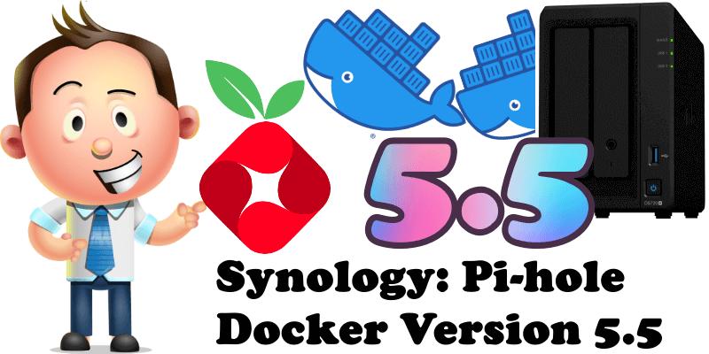 Synology Pi-hole Docker Version 5.5
