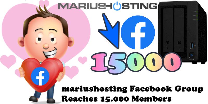 mariushosting Facebook Group Reaches 15.000 Members